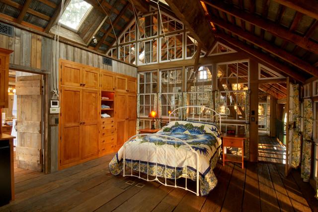 Repurposed Tobacco Barn-Honeybrook, PA - Rustic - Bedroom ...