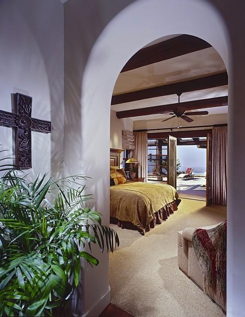 Residence mediterranean-bedroom