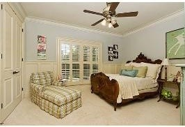 Residence in Woodstone Subdivision, Mandeville, LA traditional-bedroom