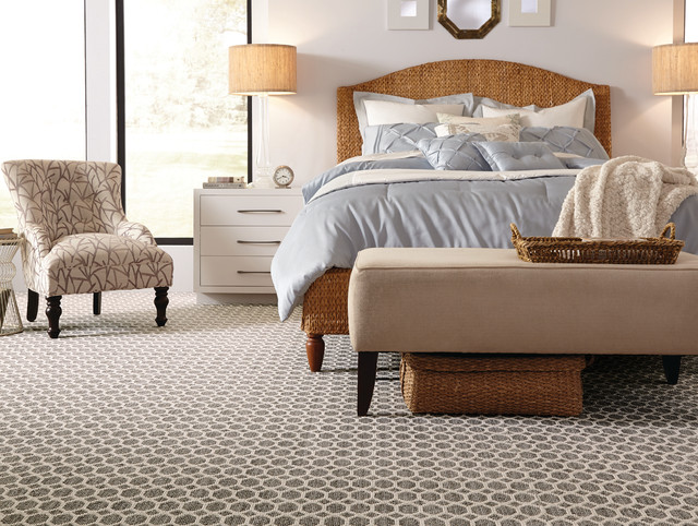 carpet trends modern bedroom atlanta by dalton carpet