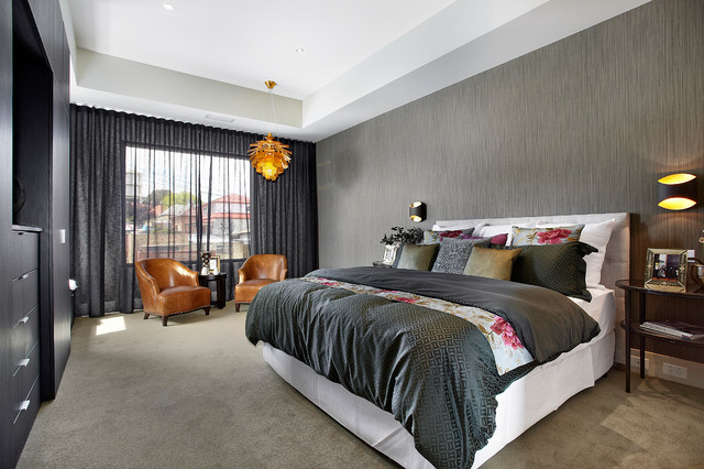 Residential Church Conversion Contemporary Bedroom