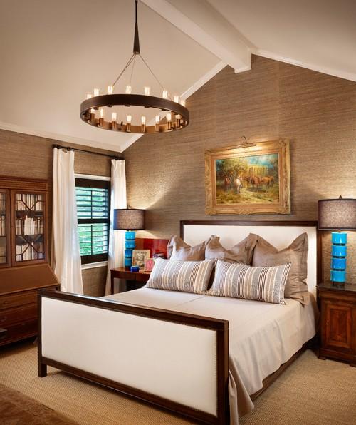 Ideas para decorar las habitaciones con papel pintado