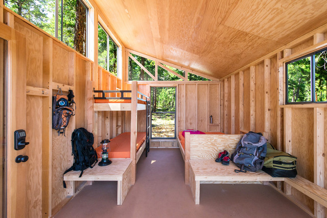 Revamp The Camp Studio Rustic Bedroom Los Angeles By Cal Poly Pomona Department Of