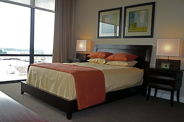 Richard Cable Interiors modern-bedroom
