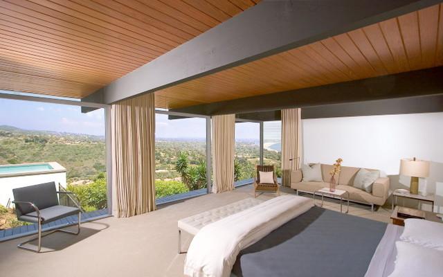 Richard Neutra restoration modern-bedroom