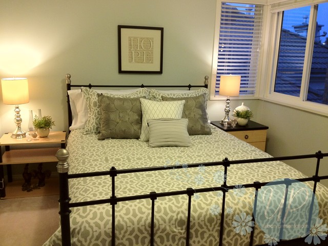 Richmond redesign contemporary bedroom vancouver for Redesign bedroom