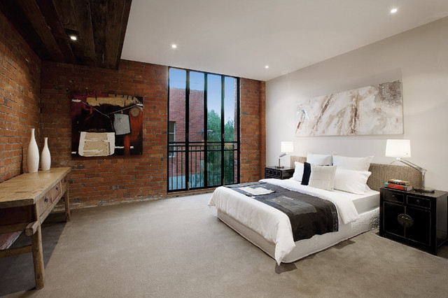 Richmond Warehouse Conversion Industrial Bedroom