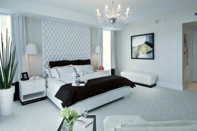 ritz carlton contemporary bedroom miami by britto charette
