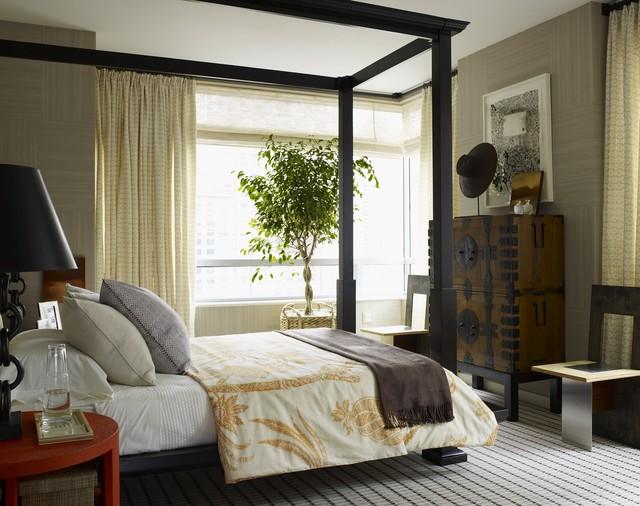 Riverhouse eclectic-bedroom