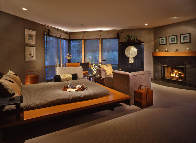 Zen Inspired Master Bedroom Ideas. Bedroom In Japanese Style ...