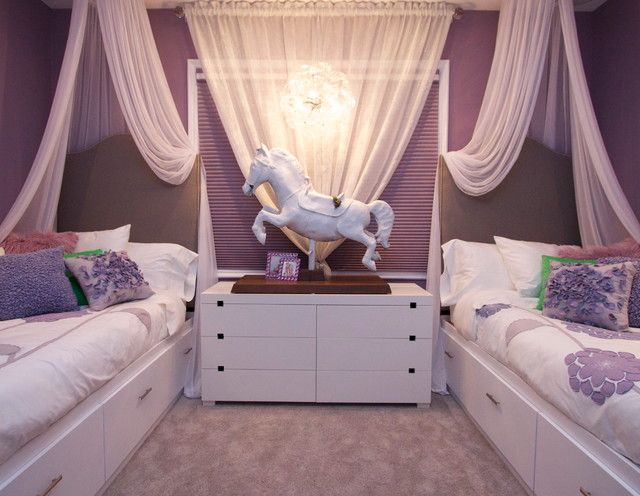 Robeson Design Girls Bedroom Decorating Ideas - Klassisch ...