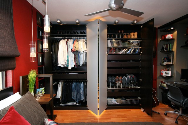 Robeson Design Pax Wardrobe System From Ikea Offers Modern