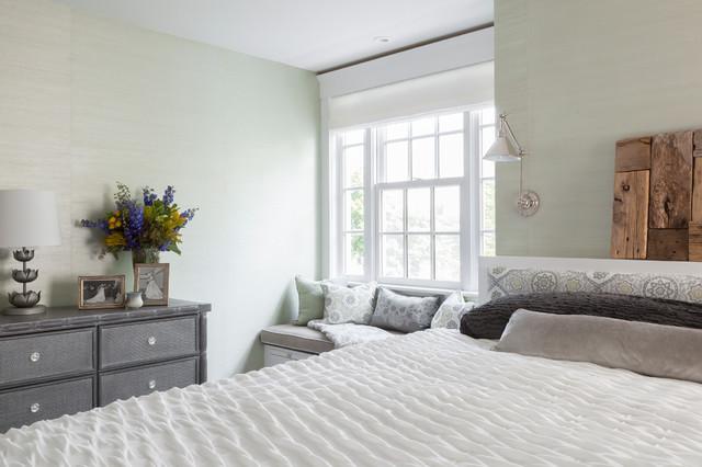 Rockport Beach House beach-style-bedroom
