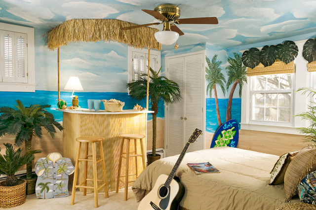 Rockville Teen Bedroom - Beach Style - Bedroom - dc metro ...