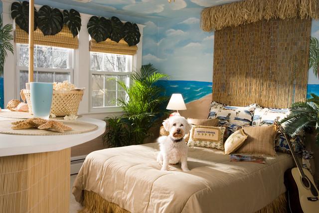 Rockville Teen Bedroom tropical-bedroom