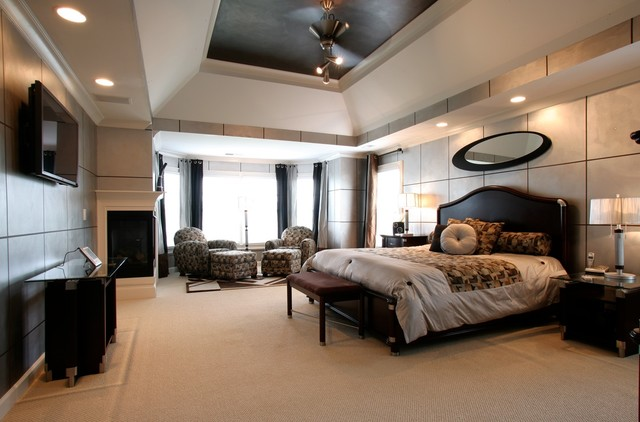 High Quality Rococo Design Interiors Modern Bedroom