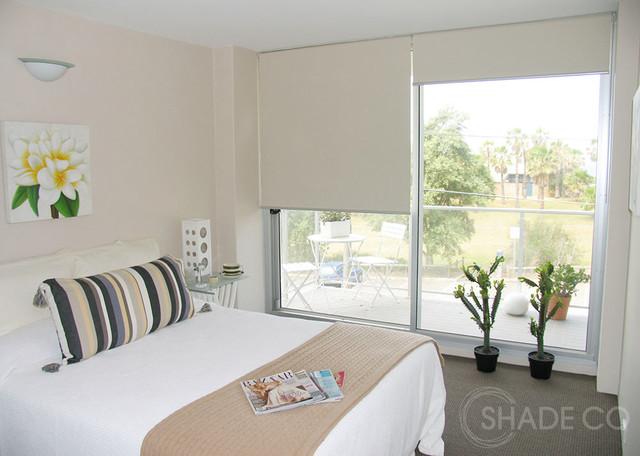 Roller Blinds Modern Bedroom Sydney By Shadeco