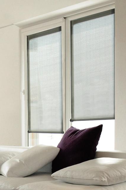 Roller Blinds Modern Bedroom Brisbane By Veneta Blinds