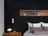 contemporary-bedroom Stylish Feature Walls Star in the Most Popular Bedrooms Upholstery in London