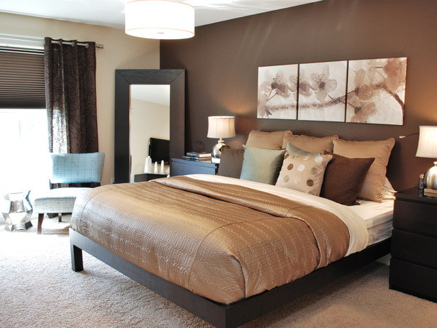 Romantic and Modern bedroom