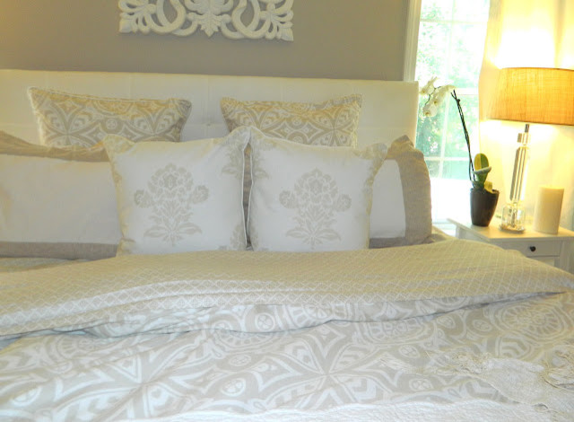 Romantic and peaceful master bedroom traditional bedroom for Peaceful master bedroom designs