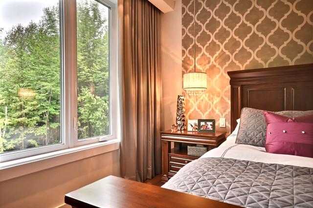 Romantic bedroom contemporary-bedroom