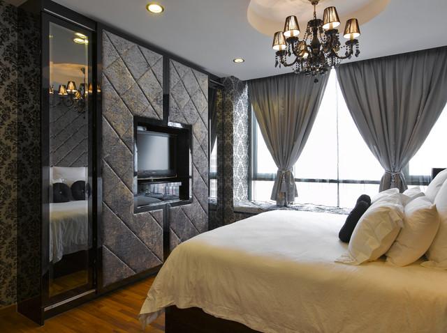 Romantic Glamour * Bedroom   Contemporary   Bedroom ...