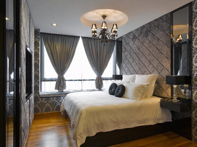 Kancelaria prawna Contemporary-bedroom