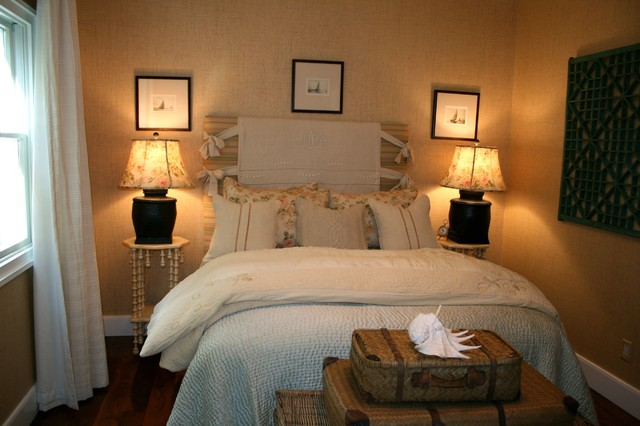 romantic guest room eclectic bedroom