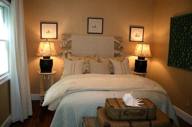 romantic guest room beach-style-bedroom