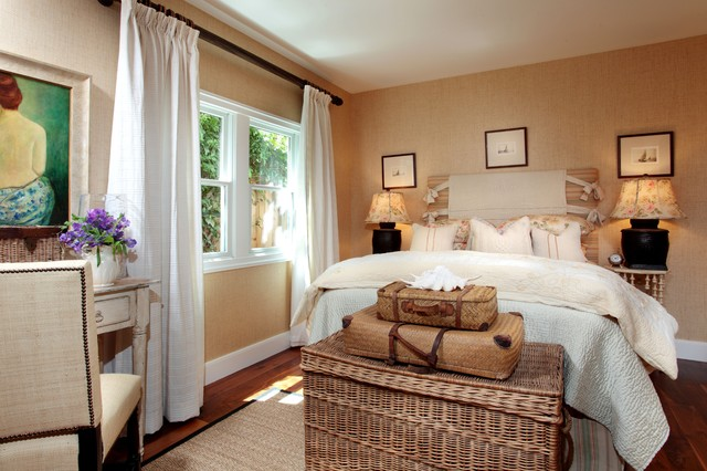 romantic guest room shabby chic style bedroom los