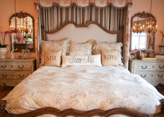 Romantic Master Bedroom   Traditional   Bedroom   Los ...