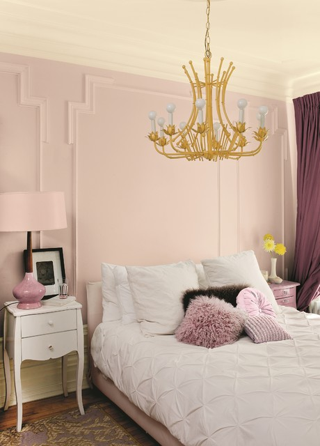 Romantic Pink Bedroom - Victorian - Bedroom - Other - by PPG ...