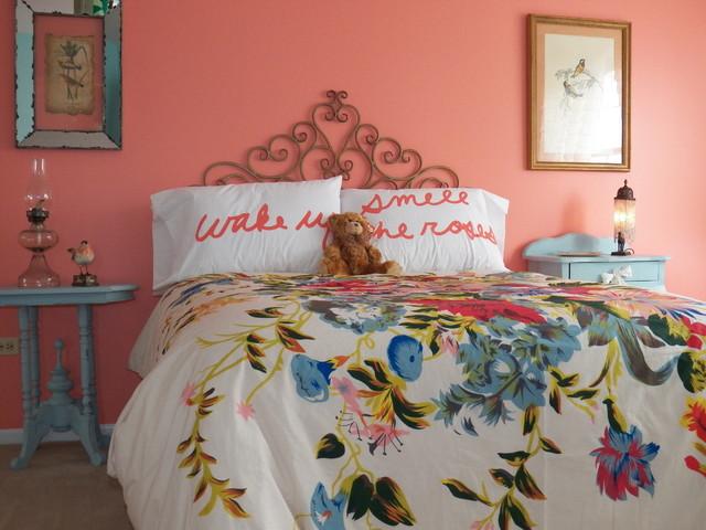 Romantic vintage teenage bedroom eclectic bedroom for Bedroom designs vintage