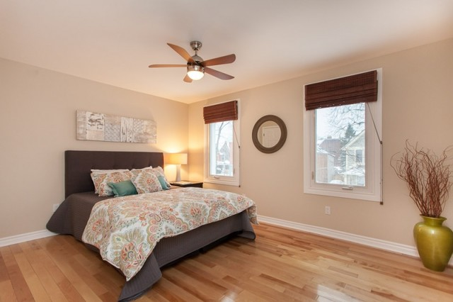 Roncesvalles stone house eclectic bedroom toronto for Accents salon bellingham