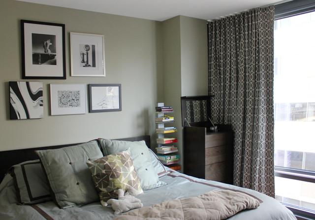Drapes Drapes Drapes!!! contemporary-bedroom
