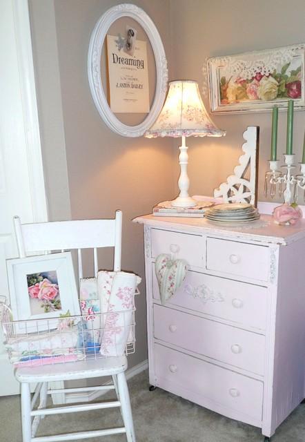 Rose Garden Romantic Home eclectic-bedroom