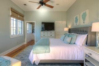 Rosemary Beach Renovation Style Bedroom