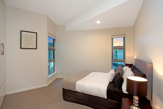 Rotating House Contemporary Bedroom Canberra Queanbeyan By Dna Architects