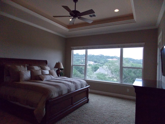 Round Features Traditional Bedroom Austin By Dillon Custom Homes