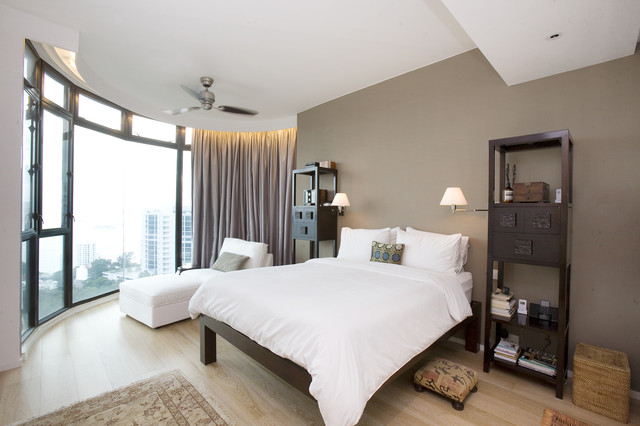 contemporary bedroom by Clifton Leung Design Workshop