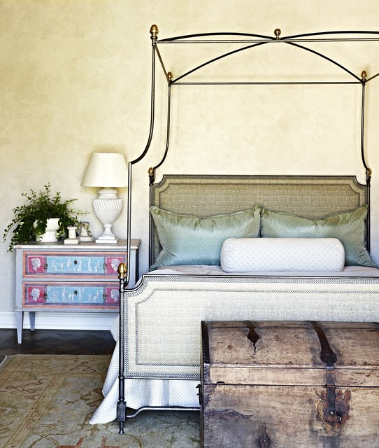 Rural French Estate mediterranean-bedroom