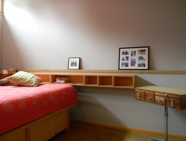 modern bedroom by Kimberley Bryan