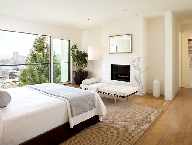 Russian Hill modern-bedroom