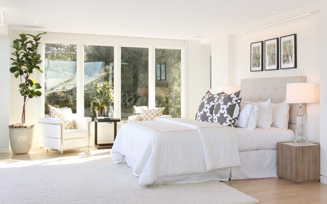 Russian Hill View Home modern-bedroom