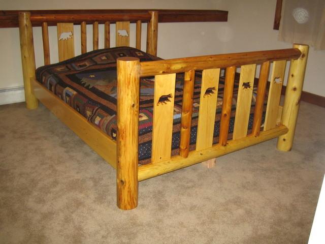 Rustic bedroom furniture rustic-bedroom