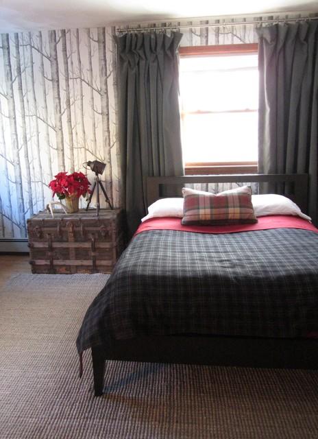rustic chic masculine bedroom design eclectic bedroom
