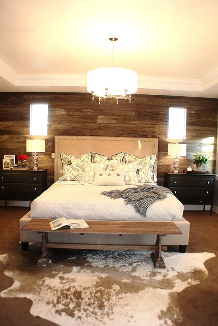 rustic chic master bedroom eclectic bedroom