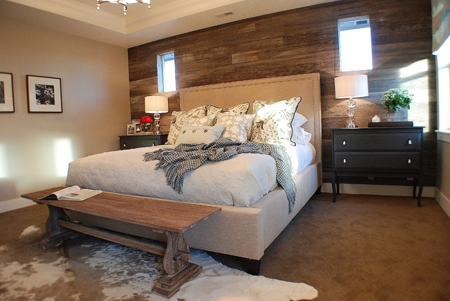 Rustic chic master bedroom Modern chic master bedroom
