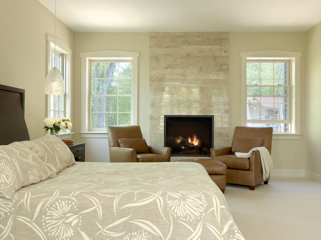 Rustic contemporary contemporary bedroom st louis by castle design - Beautiful contemporary bedroom design ideas for releasing stress at home ...